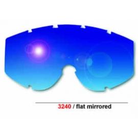 Cristal Gafas Motocross ProGrip azul Mirrored