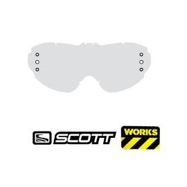 Cristal Gafas Motocross Scott Voltage MX Works Doble