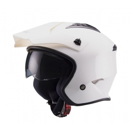 CASCO TRIAL UNIK CT-07 BLANCO
