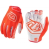 GUANTES TROY LEE AIR ORANGE NIÑO