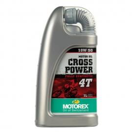 Aceite Motorex Cross Power 4t 10w/50 1 Litro