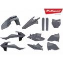 Kit plasticos Polisport SX/SX-F 19 Gris Nardo Grey