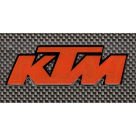 Adhesivo KTM 3D 90x30mm