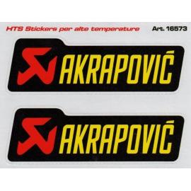 Adhesivo Akrapovic alta temeratura 2 unudades