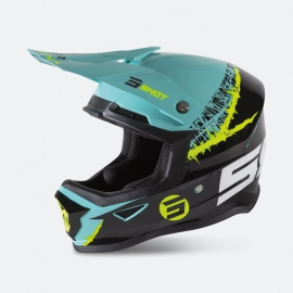 casco SHOT KID STORM/GOLD (niño)