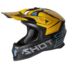 casco SHOT CORE / BLACK YELLOW