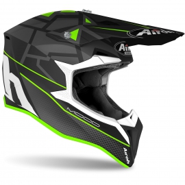 CASCO AIROH WRAAP MOOD GREEN