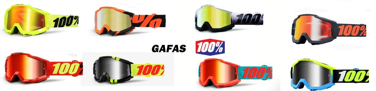 Gafas 100%